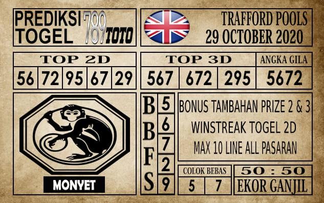 Prediksi Trafford Pools Hari Ini 29 Oktober 2020