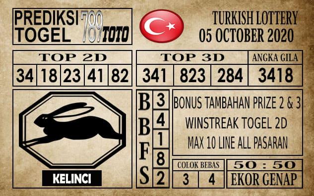 Prediksi Turkish Lottery Hari Ini 05 Oktober 2020