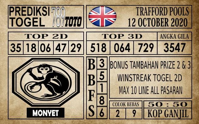 Prediksi Trafford Pools Hari Ini 12 Oktober 2020
