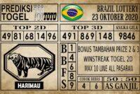 Prediksi Brazil Lottery Hari Ini 23 Oktober 2020