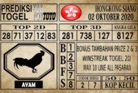 Prediksi Hongkong Siang Hari ini 02 Oktober 2020