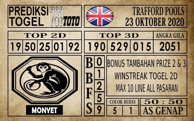 Prediksi Trafford Pools Hari Ini 23 Oktober 2020