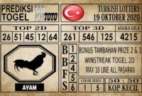 Prediksi Turkish Lottery Hari ini 19 Oktober 2020