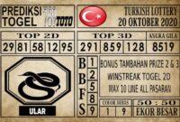 Prediksi Turkish Lottery Hari ini 20 Oktober 2020