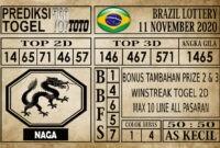Prediksi Brazil Lottery Hari Ini 11 November 2020