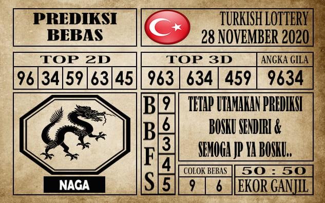 Prediksi Turkish Lottery Hari Ini 28 November 2020