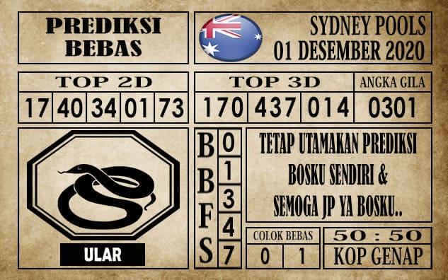 Prediksi Sydney Pools Hari ini 01 Desember 2020