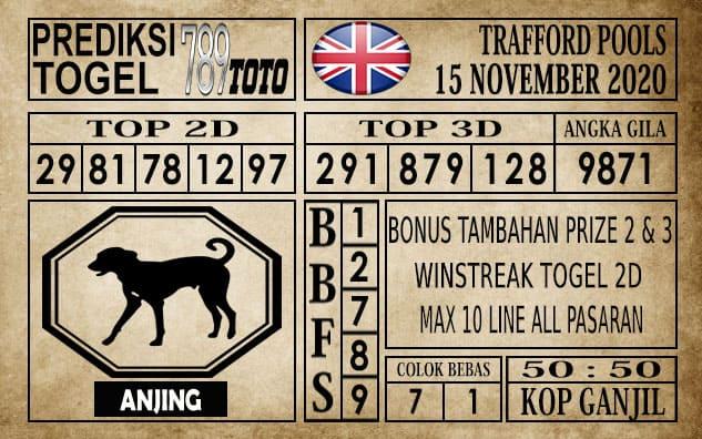 Prediksi Trafford Pools Hari Ini 15 November 2020