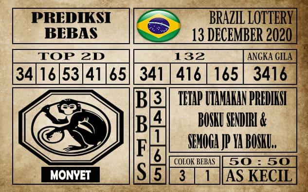 Prediksi Brazil Lottery Hari Ini 13 Desember 2020