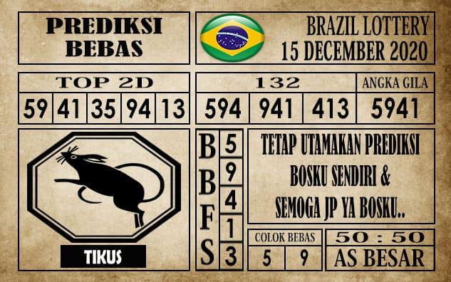 Prediksi Brazil Lottery Hari Ini 15 Desember 2020