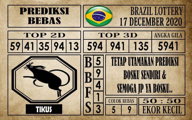 Prediksi Brazil Lottery Hari Ini 17 Desember 2020