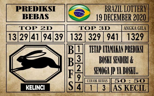 Prediksi Brazil Lottery Hari Ini 19 Desember 2020