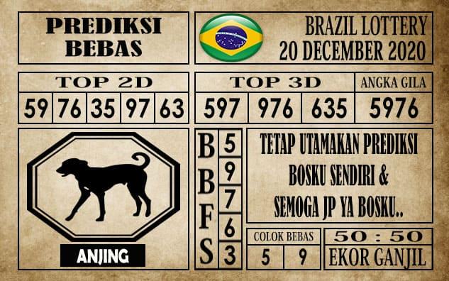 Prediksi Brazil Lottery Hari Ini 20 Desember 2020
