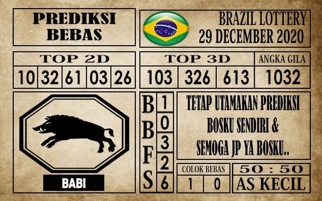 Prediksi Brazil Lottery Hari Ini 29 Desember 2020
