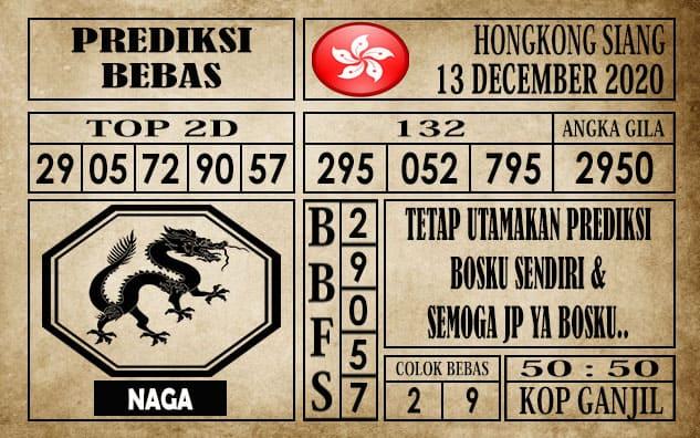 Prediksi Hongkong Siang Hari Ini 13 Desember 2020