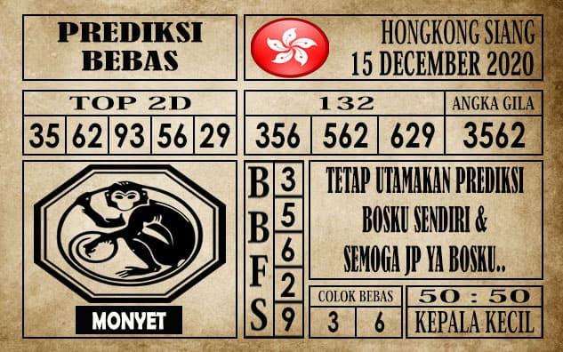 Prediksi Hongkong Siang Hari Ini 15 Desember 2020