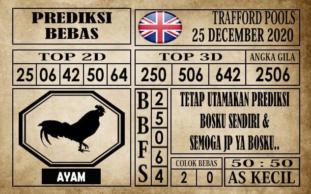 Prediksi Trafford Pools Hari Ini 25 Desember 2020