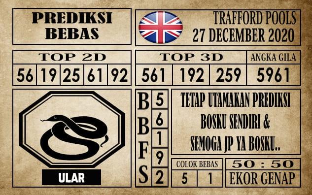 Prediksi Trafford Pools Hari Ini 27 Desember 2020