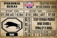 Prediksi Trafford Pools Hari Ini 09 Desember 2020