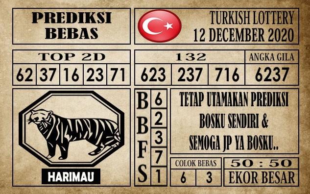 Prediksi Turkish Lottery Hari Ini 12 Desember 2020