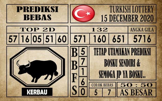 Prediksi Turkish Lottery Hari Ini 15 Desember 2020