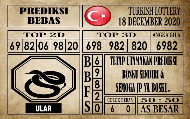 Prediksi Turkish Lottery Hari Ini 18 Desember 2020