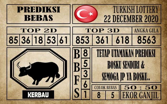 Prediksi Turkish Lottery Hari Ini 22 Desember 2020