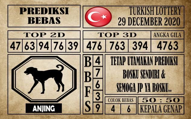 Prediksi Turkish Lottery Hari Ini 29 Desember 2020