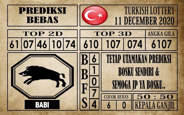 Prediksi Turkish Lottery Hari Ini 11 Desember 2020