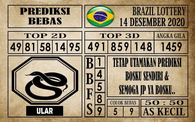 Prediksi Brazil Lottery Hari Ini 14 Desember 2020