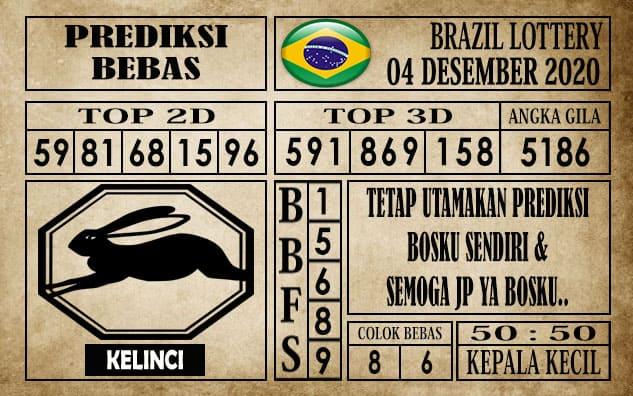 Prediksi Brazil Lottery Hari Ini 04 Desember 2020