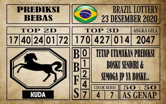 Prediksi Brazil Lottery Hari Ini 23 Desember 2020