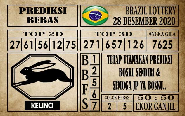 Prediksi Brazil Lottery Hari Ini 28 Desember 2020