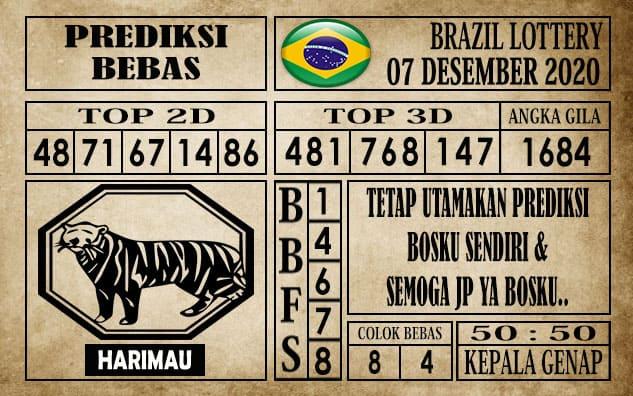 Prediksi Brazil Lottery Hari Ini 07 Desember 2020