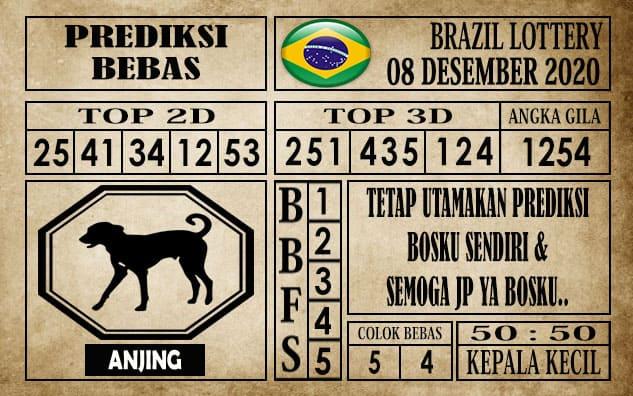 Prediksi Brazil Lottery Hari Ini 08 Desember 2020