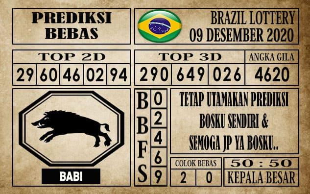 Prediksi Brazil Lottery Hari Ini 09 Desember 2020