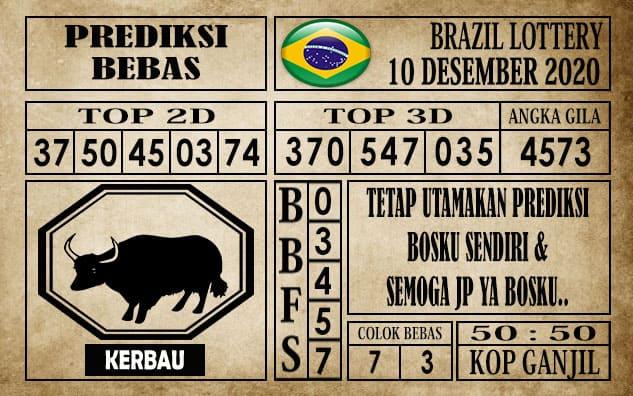 Prediksi Brazil Lottery Hari Ini 10 Desember 2020