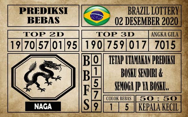 Prediksi Brazil Lottery Hari Ini 02 Desember 2020