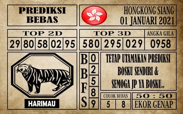 Prediksi Hongkong Siang Hari ini 01 Januari 2021