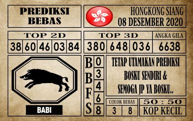 Prediksi Hongkong Siang Hari ini 08 Desember 2020