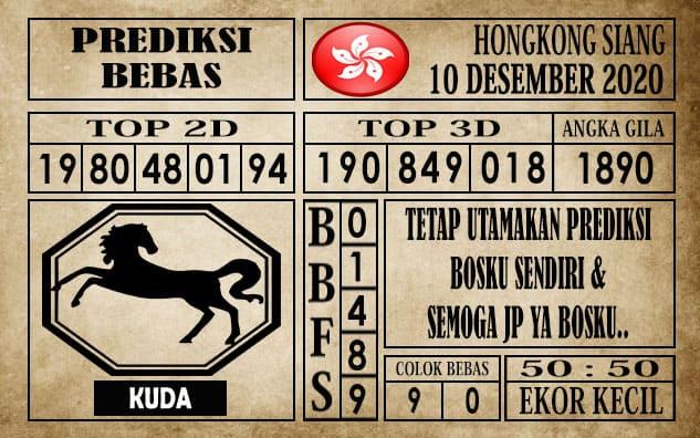 Prediksi Hongkong Siang Hari ini 10 Desember 2020