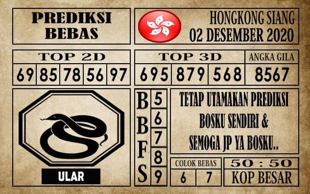 Prediksi Hongkong Siang Hari ini 02 Desember 2020