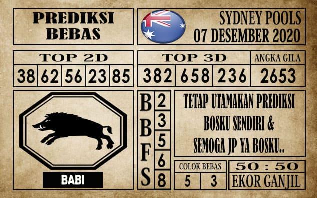 Prediksi Sydney Pools Hari ini 07 Desember 2020