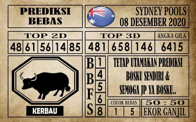 Prediksi Sydney Pools Hari ini 08 Desember 2020