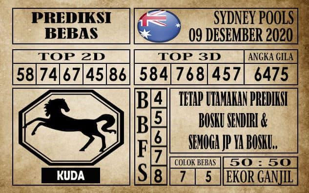 Prediksi Sydney Pools Hari ini 09 Desember 2020