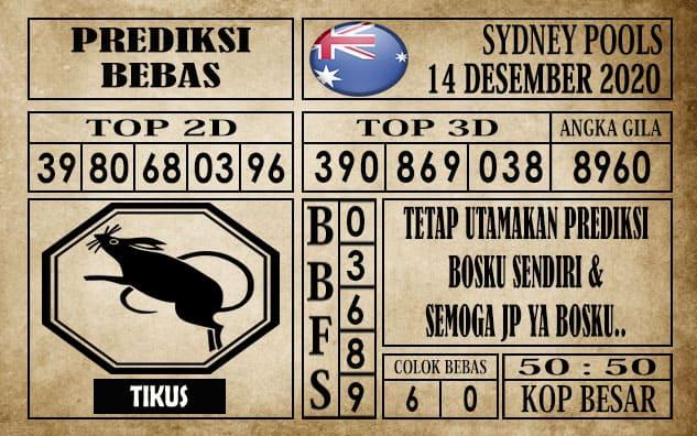 Prediksi Sydney Pools Hari ini 14 Desember 2020
