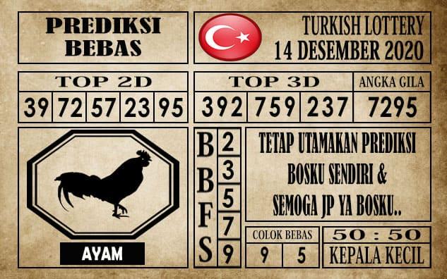 Prediksi Turkish Lottery Hari ini 14 Desember 2020