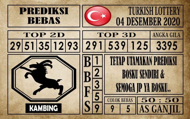 Prediksi Turkish Lottery Hari ini 04 Desember 2020