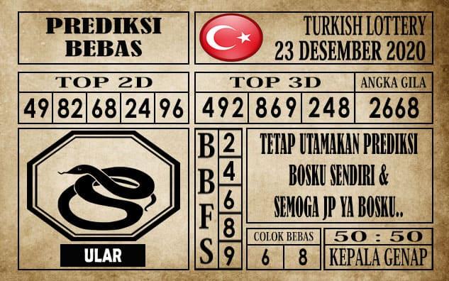 Prediksi Turkish Lottery Hari ini 23 Desember 2020