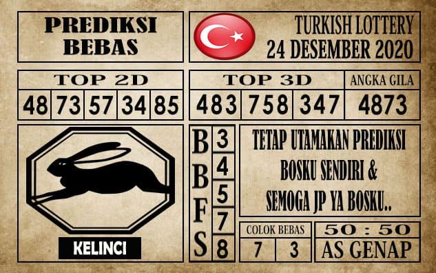 Prediksi Turkish Lottery Hari ini 24 Desember 2020